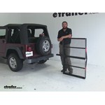 Pro Series  Hitch Cargo Carrier Review - 2004 Jeep Wrangler