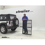 Pro Series  Hitch Cargo Carrier Review - 2009 Jeep Wrangler