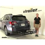 Pro Series  Hitch Cargo Carrier Review - 2015 Subaru Outback Wagon