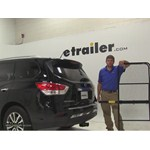 Pro Series 24x60 Hitch Cargo Carrier Review - 2014 Nissan Pathfinder