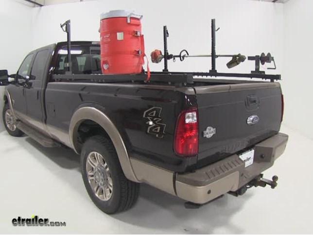 Truck Bed Weedeater Rack