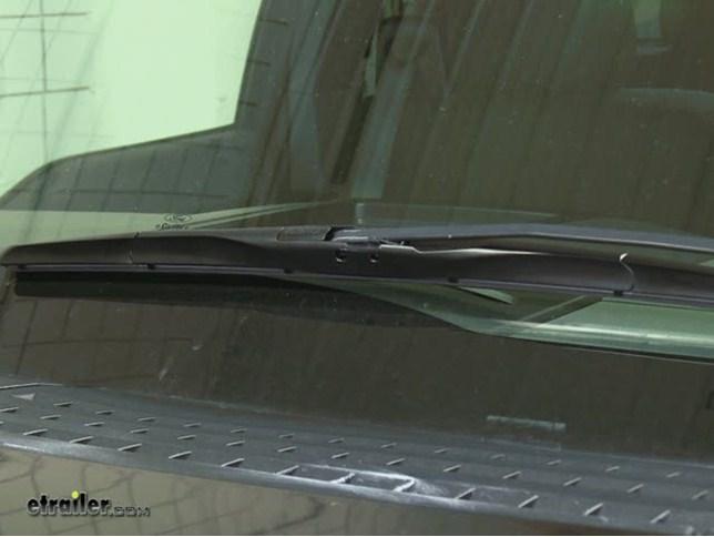 Rain X Fusion Wiper Blades Installation 2006 Ford F 150