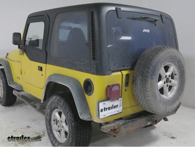 & Rampage Replacement Soft Upper Jeep Doors Review Video | etrailer.com