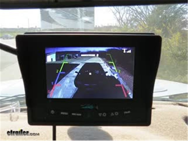 Rear View Safety Wireless Backup Camera System 5 Single Screen Display
