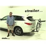 Reese Eclipse Hitch Bike Racks Review - 2014 Infiniti QX60