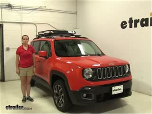 Jeep Renegade Roof >> Reese Roof Cargo Carrier Review 2016 Jeep Renegade Video