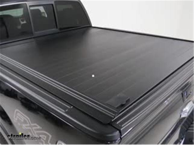 retraxpro mx hard tonneau cover - retractable - aluminum - matte