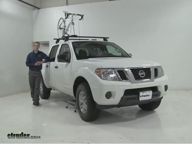 Rhino Rack MountainTrail Roof Bike Racks Review   2016 Nissan Frontier  Video | Etrailer.com