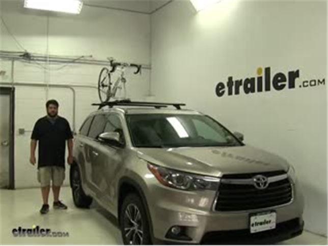 Rhino Rack Mountaintrail Roof Bike Racks Review 2016 Toyota Highlander Video Etrailer