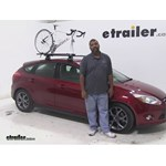 Rhino Rack Road-Warrior Roof Bike Racks Review - 2013 Ford Focus