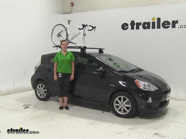 Rhino Rack Road Warrior Roof Bike Racks Review 2017 Toyota Prius C Video Etrailer
