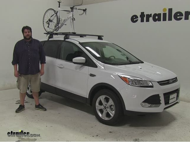 Rhino Rack Road Warrior Roof Bike Racks Review 2016 Ford Escape Video Etrailer