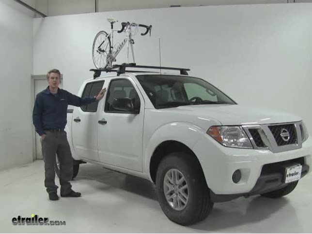 Rhino Rack Road Warrior Roof Bike Racks Review 2017 Nissan Frontier Etrailer Com