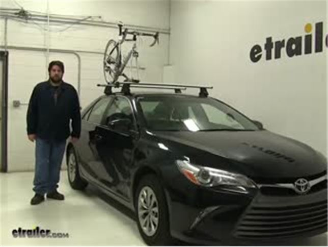 Rhino Rack Road Warrior Roof Bike Racks Review 2016 Toyota Camry Video Etrailer
