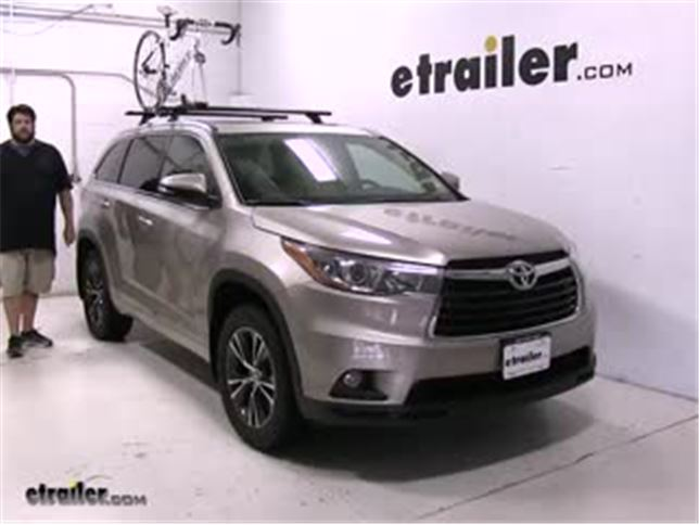 Rhino Rack Road Warrior Roof Bike Racks Review 2016 Toyota Highlander Video Etrailer