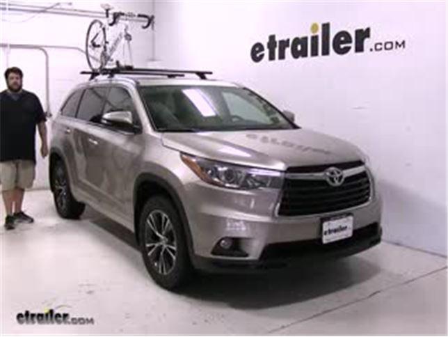 Toyota Highlander Roof Bike Rack Best Seller Bicycle Review