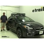 Rhino Rack  Roof Basket Review - 2014 Subaru XV Crosstrek
