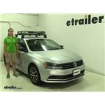 Rhino Rack  Roof Basket Review - 2016 Volkswagen Jetta