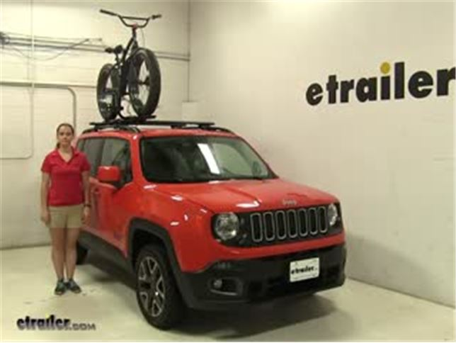 Bike Rack For Jeep Renegade >> Rhino Rack Roof Bike Racks Review 2016 Jeep Renegade Video