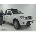 Rhino Rack  Roof Cargo Carrier Review - 2016 Nissan Frontier