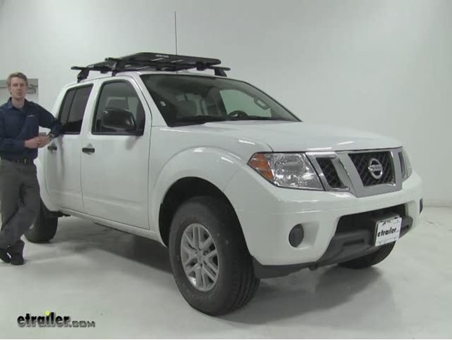 Superior Rhino Rack Roof Cargo Carrier Review   2016 Nissan Frontier Video |  Etrailer.com
