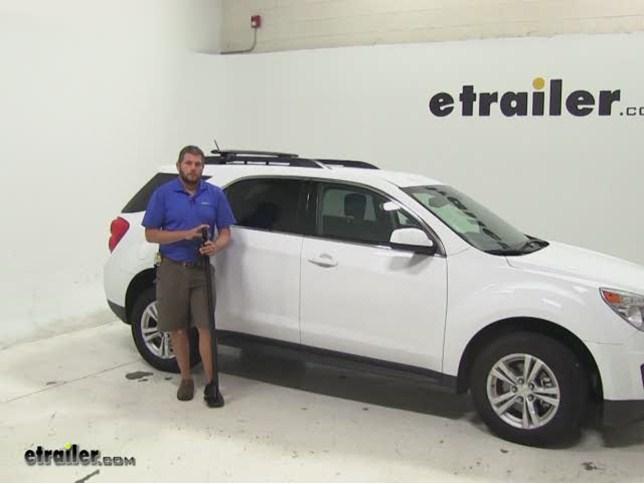Rhino Rack Roof Rack Review   2014 Chevrolet Equinox Video | Etrailer.com
