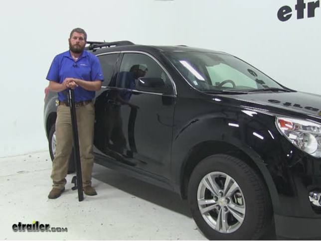 Rhino Rack Roof Rack Review   2015 Chevrolet Equinox Video | Etrailer.com