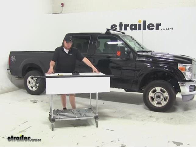 Rhino Rack Roof Rack Review   2015 Ford F 250 Super Duty Video |  Etrailer.com