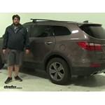 Rhino Rack  Roof Rack Review - 2015 Hyundai Santa Fe