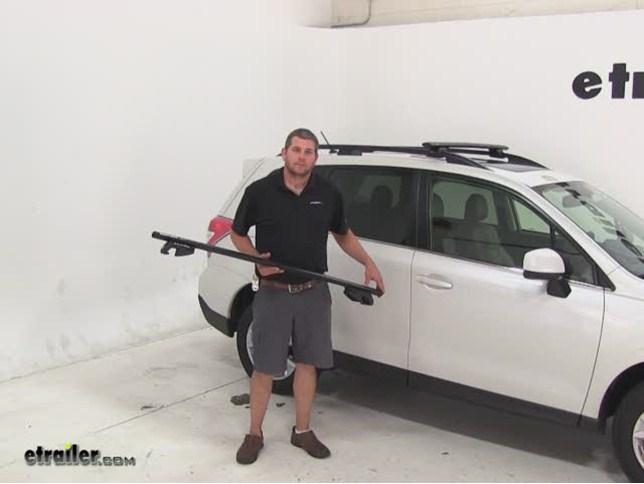 Rhino Rack Roof Rack Review   2015 Subaru Forester Video | Etrailer.com