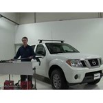 Today On Our 2016 Nissan Frontier, We Will Be Doing A Test With The Rhino  Rack Vortex Aero Crossbar Roof Rack System, Using Part Numbers RRBA137B 2  For The ...