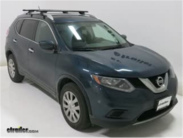 Rhino Rack Vortex Aero Crossbars Installation   2016 Nissan Rogue Video |  Etrailer.com