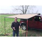 Rhino-Rack Roof Rack Mount Sunseeker Awning Review