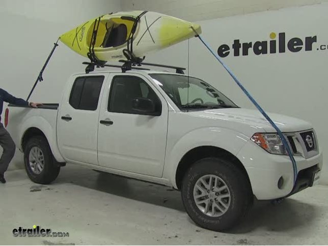 Rhino Rack Watersport Carriers Review   2016 Nissan Frontier Video |  Etrailer.com