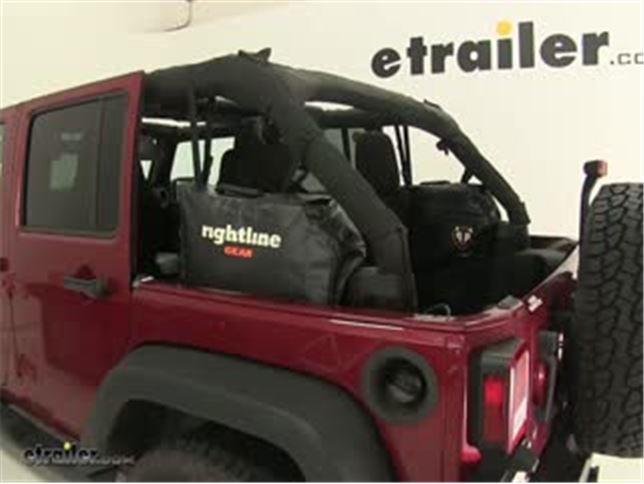 Rightline Gear Jeep Wrangler Unlimited Side Storage Bags Review Video | etrailer.com & Rightline Gear Jeep Wrangler Unlimited Side Storage Bags Review ...