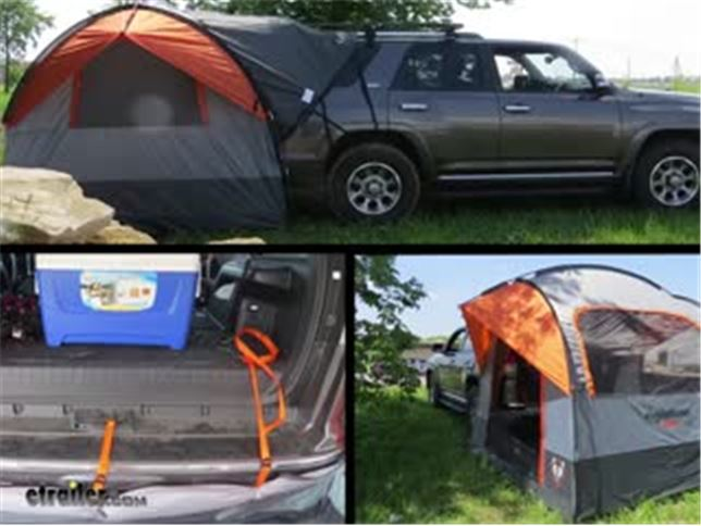 & Rightline Gear SUV Tent with Rainfly Review Video   etrailer.com