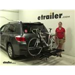 RockyMounts  Hitch Bike Racks Review - 2012 Toyota Highlander
