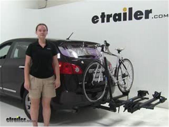 RockyMounts Hitch Bike Racks Review   2013 Nissan Rogue Video | Etrailer.com