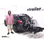 RockyMounts  Hitch Bike Racks Review - 2014 Subaru XV Crosstrek