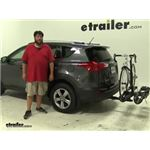 RockyMounts  Hitch Bike Racks Review - 2015 Toyota RAV4