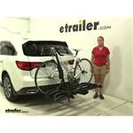 RockyMounts  Hitch Bike Racks Review - 2016 Acura MDX