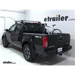 RockyMounts LoBall Truck Bed Bike Rack Review - 2018 Nissan Frontier