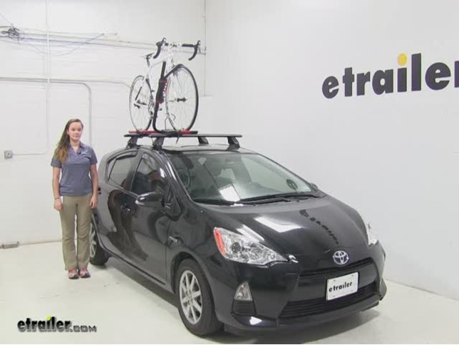 Rockymounts Roof Bike Racks Review 2017 Toyota Prius C Video Etrailer