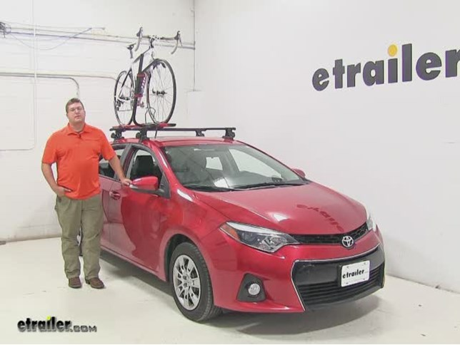 Rockymounts Roof Bike Racks Review 2017 Toyota Corolla Video Etrailer