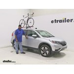 RockyMounts Roof Bike Racks Review - 2015 Honda CR-V