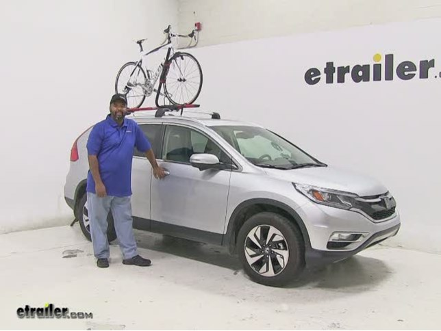 RockyMounts Roof Bike Racks Review   2015 Honda CR V Video | Etrailer.com