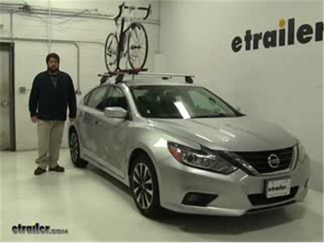 Charming RockyMounts Roof Bike Racks Review   2017 Nissan Altima Video | Etrailer.com