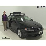 RockyMounts  Ski and Snowboard Racks Review - 2013 Volkswagen Jetta