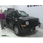 RockyMounts  Ski and Snowboard Racks Review - 2016 Jeep Patriot