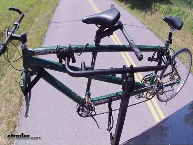 Rockymounts Tandem Tailpipe Bike Rack For 1 Tandem Bike